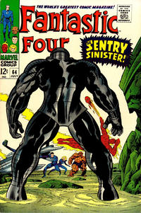 Cover for Fantastic Four (Marvel, 1961 series) #64