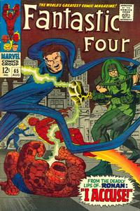 Cover Thumbnail for Fantastic Four (Marvel, 1961 series) #65 [Regular Edition]