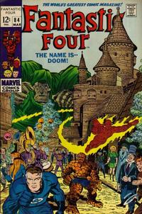 Cover Thumbnail for Fantastic Four (Marvel, 1961 series) #84