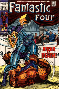 Cover Thumbnail for Fantastic Four (Marvel, 1961 series) #93 [Regular Edition]