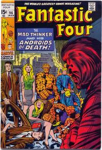 Cover Thumbnail for Fantastic Four (Marvel, 1961 series) #96 [Regular Edition]