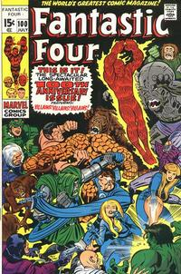 Cover Thumbnail for Fantastic Four (Marvel, 1961 series) #100 [Regular Edition]