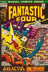 Cover Thumbnail for Fantastic Four (Marvel, 1961 series) #122 [Regular Edition]