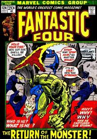 Cover Thumbnail for Fantastic Four (Marvel, 1961 series) #124 [Regular Edition]