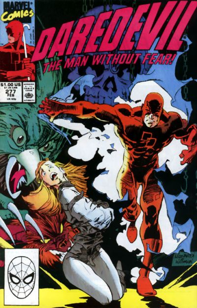 Cover for Daredevil (1964 series) #277