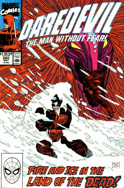Cover for Daredevil (1964 series) #280