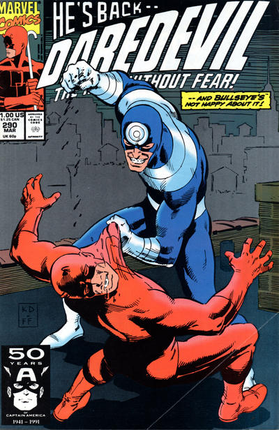 Cover for Daredevil (1964 series) #290