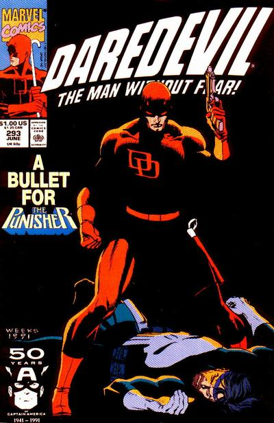 Cover for Daredevil (Marvel, 1964 series) #293 [Direct Edition]