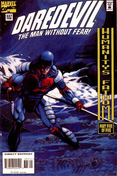 Cover for Daredevil (Marvel, 1964 series) #337 [Direct Edition]