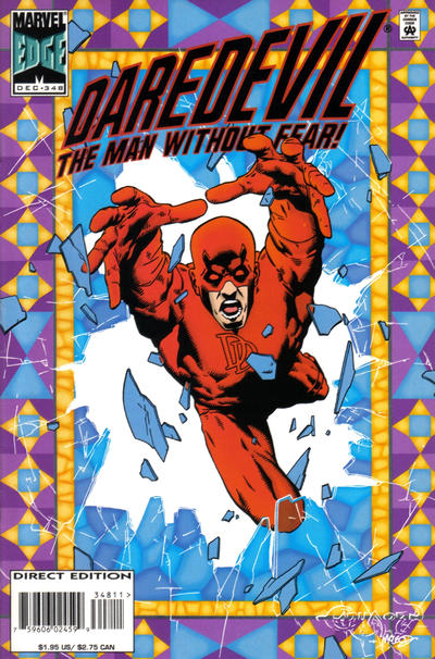 Cover for Daredevil (1964 series) #348