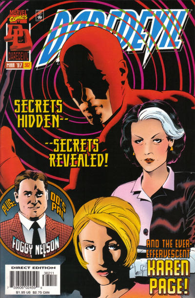 Cover for Daredevil (Marvel, 1964 series) #362 [Direct Edition]