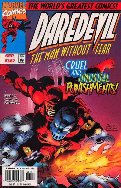 Cover for Daredevil (1964 series) #367