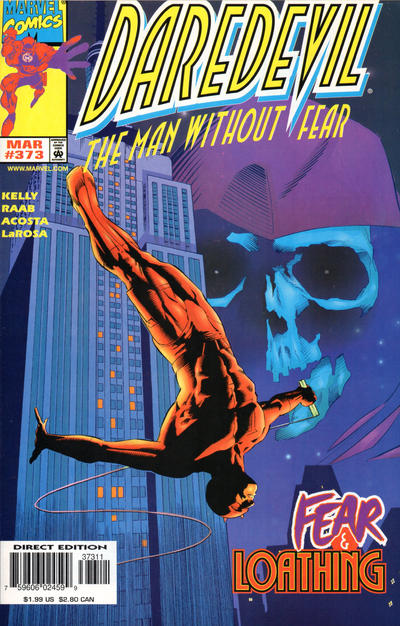 Cover for Daredevil (Marvel, 1964 series) #373 [Direct Edition]