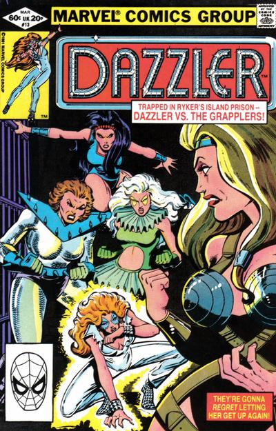 Cover for Dazzler (1981 series) #13