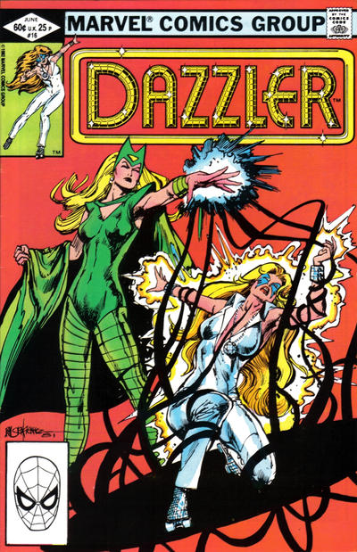 Cover for Dazzler (Marvel, 1981 series) #16