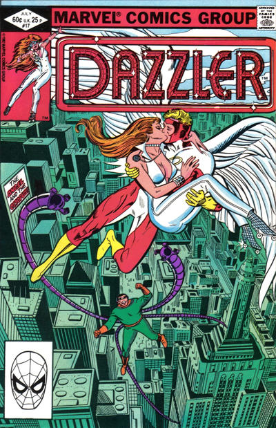 Cover for Dazzler (Marvel, 1981 series) #17 [Direct Edition]