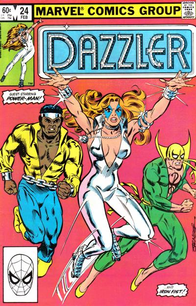 Cover for Dazzler (1981 series) #24