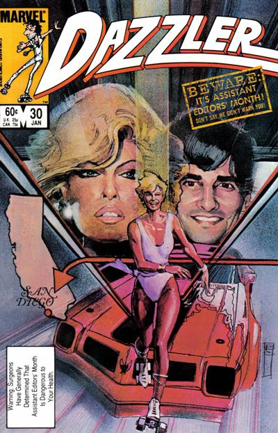 Cover for Dazzler (Marvel, 1981 series) #30