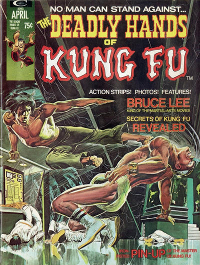 Cover for The Deadly Hands of Kung Fu (1974 series) #1
