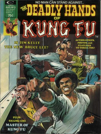 Cover for The Deadly Hands of Kung Fu (Marvel, 1974 series) #3