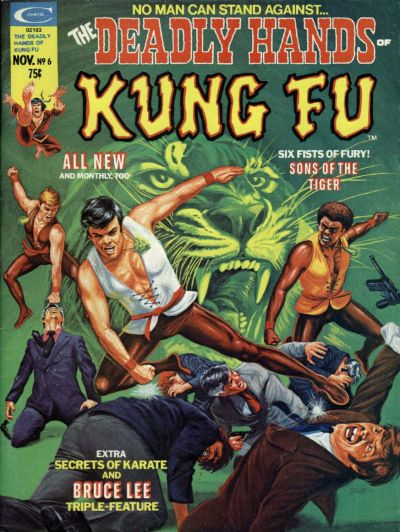 Cover for The Deadly Hands of Kung Fu (Marvel, 1974 series) #6