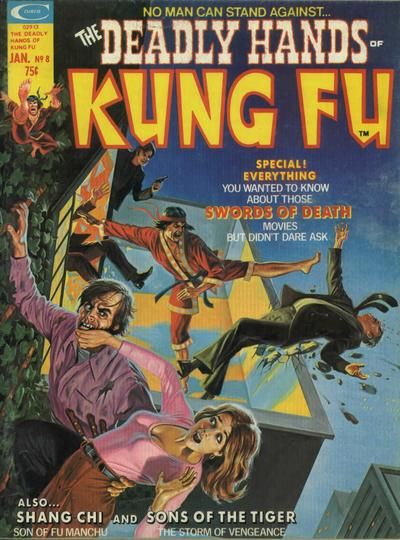 Cover for The Deadly Hands of Kung Fu (Marvel, 1974 series) #8