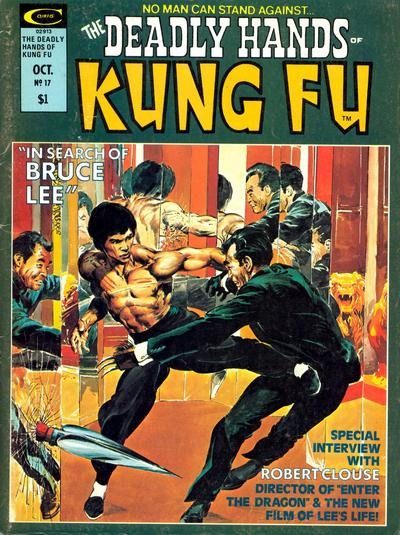 Cover for The Deadly Hands of Kung Fu (Marvel, 1974 series) #17