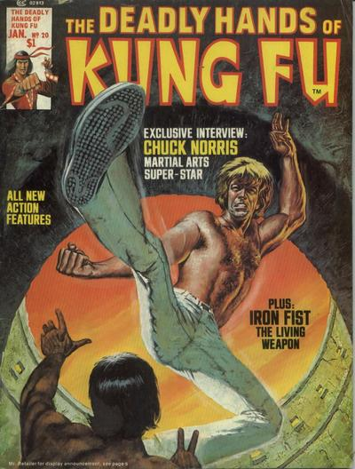 Cover for The Deadly Hands of Kung Fu (Marvel, 1974 series) #20