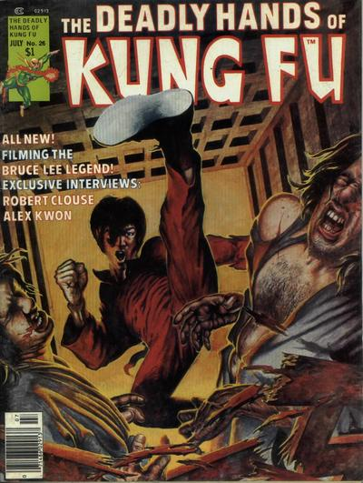 Cover for The Deadly Hands of Kung Fu (Marvel, 1974 series) #26