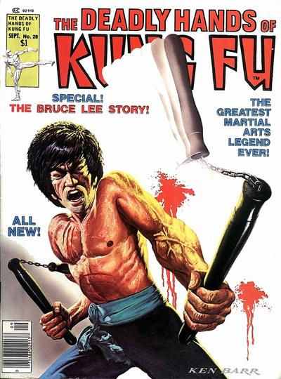 Cover for The Deadly Hands of Kung Fu (1974 series) #28