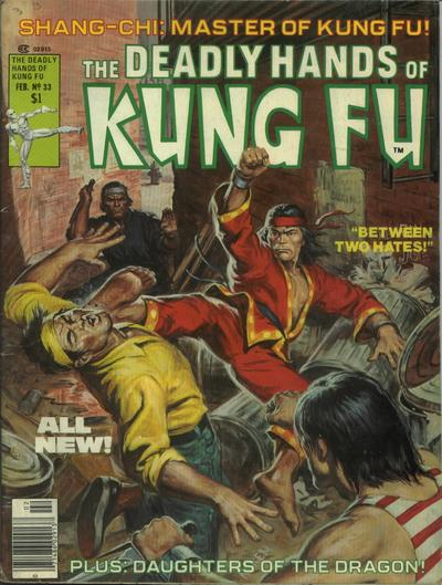 Cover for The Deadly Hands of Kung Fu (Marvel, 1974 series) #33