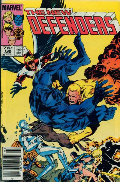 Cover for The Defenders (1972 series) #129 [Canadian price variant]