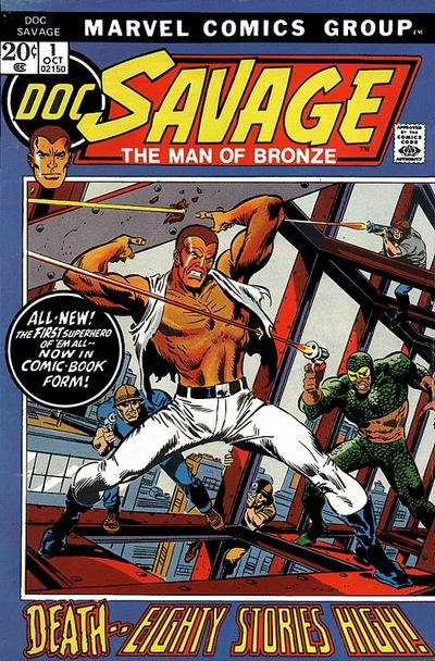 Cover for Doc Savage (Marvel, 1972 series) #1