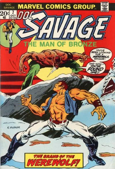 Cover for Doc Savage (Marvel, 1972 series) #7