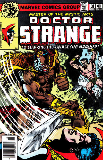 Cover for Doctor Strange (Marvel, 1974 series) #31