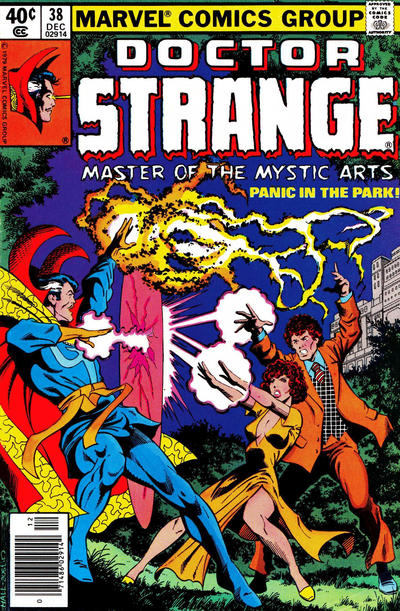 Cover for Doctor Strange (Marvel, 1974 series) #38