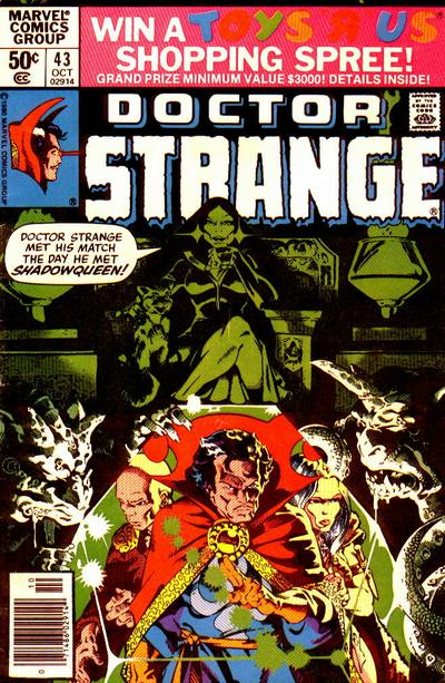 Cover for Doctor Strange (Marvel, 1974 series) #43
