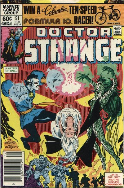 Cover for Doctor Strange (Marvel, 1974 series) #51