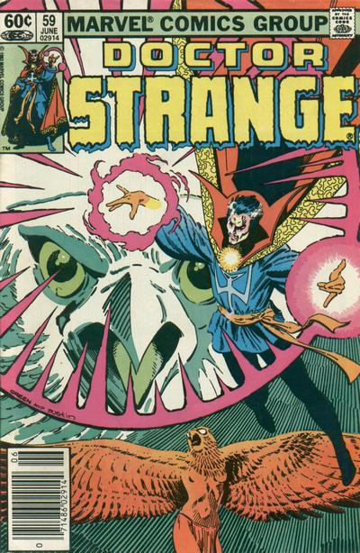 Cover for Doctor Strange (Marvel, 1974 series) #59 [Direct Edition]