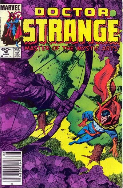 Cover for Doctor Strange (Marvel, 1974 series) #66 [Newsstand Edition]