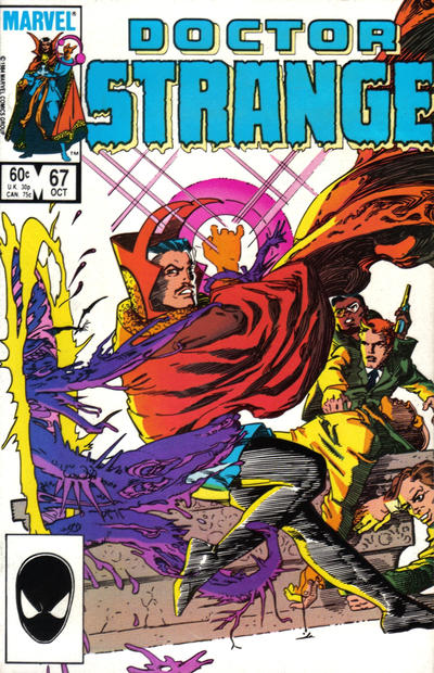 Cover for Doctor Strange (Marvel, 1974 series) #67 [Direct Edition]