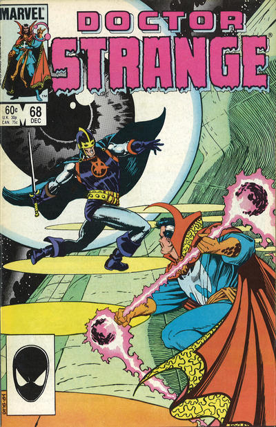 Cover for Doctor Strange (Marvel, 1974 series) #68 [Direct Edition]