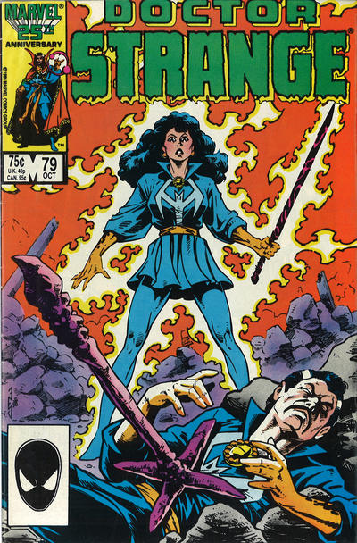 Cover for Doctor Strange (1974 series) #79 [Newsstand Edition]