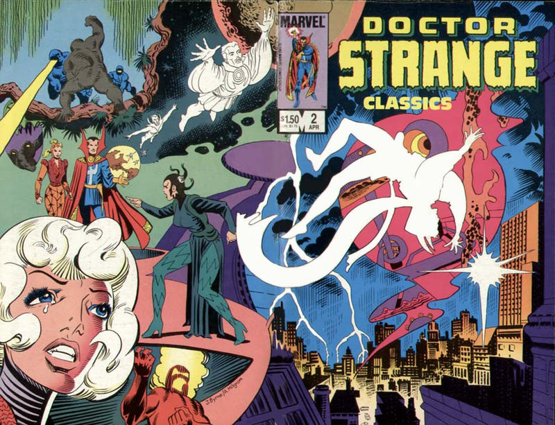 Cover for Doctor Strange Classics Starring Doctor Strange (1984 series) #2