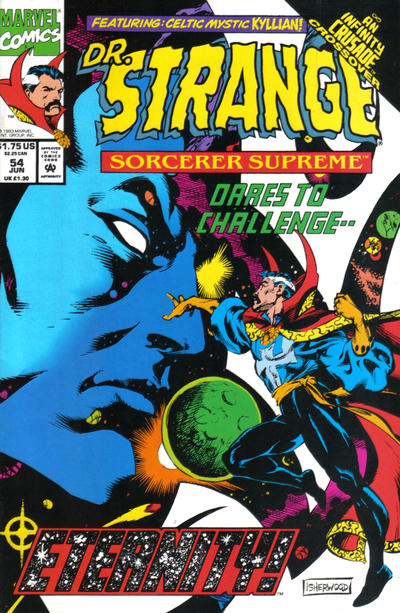 Cover for Doctor Strange, Sorcerer Supreme (Marvel, 1988 series) #54
