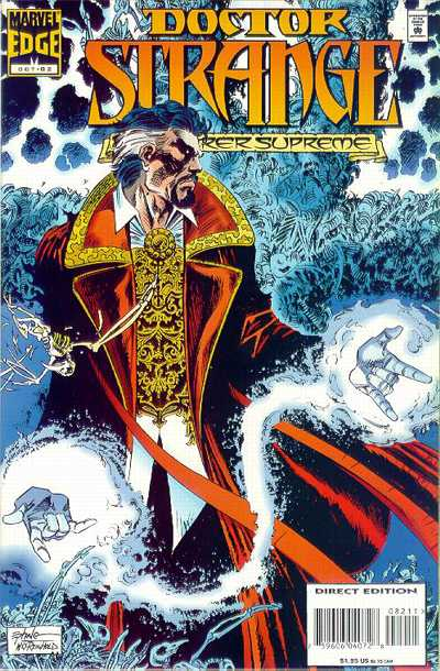 Cover for Doctor Strange, Sorcerer Supreme (Marvel, 1988 series) #82