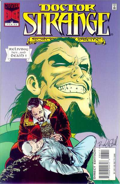 Cover for Doctor Strange, Sorcerer Supreme (1988 series) #86