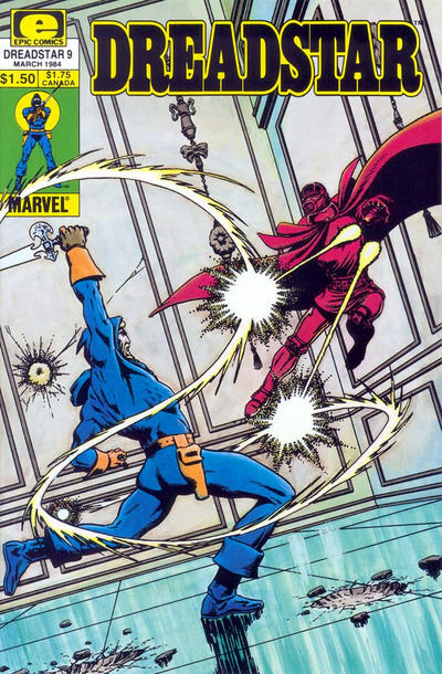 Cover for Dreadstar (Marvel, 1982 series) #9