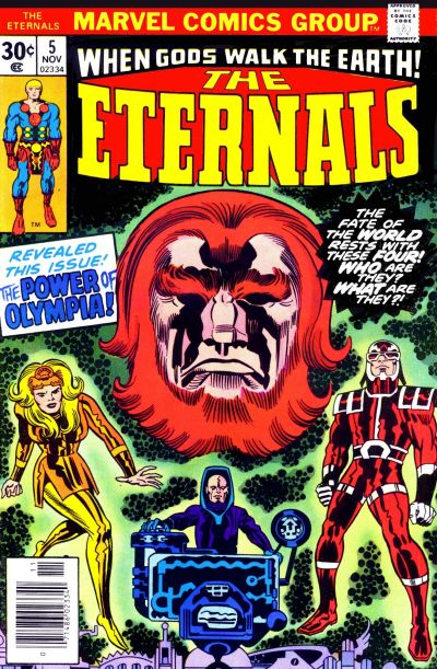 Cover for The Eternals (Marvel, 1976 series) #5