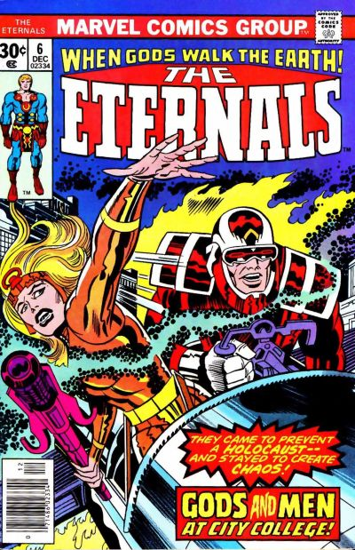 Cover for The Eternals (Marvel, 1976 series) #6